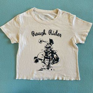 Brandy Melville Rough Rider Ashlyn top